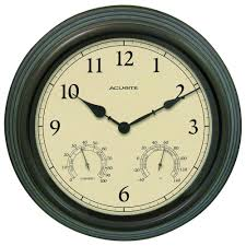 charming 40 inch wall clock 28 metallics acurite clocks 01063a1sb 64 1000