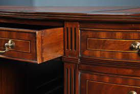 oval office desk. Oval Office Desk, Partners Mahogany Desk
