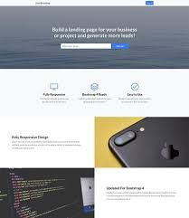 Bootstrap Landing Page Design 023 Template Ideas Bootstrap Landing Page Excellent Creative