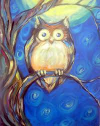 our next paint and sip class titled night owl is scheduled for friday october 23rd 2016 at 6 30pm instructor gerald van scyoc will guide students
