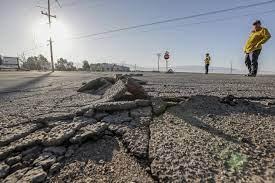 California earthquake fault capable ...
