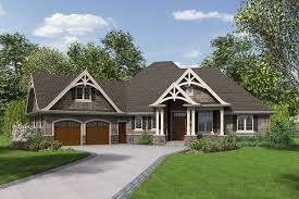 creating one level craftsman style house plans