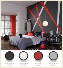 Grey and Red Bedroom Theme | For a rock and roll bedroom theme, try red,  black and gray. | Decorating | Pinterest | Red bedroom themes, Red bedrooms  and ...