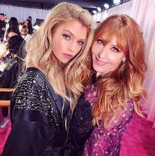 stella maxwell backse with charlotte tilbury at the victoria s secret fashion show 2018