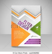 Editable Flyer Template Editable A4 Poster For Design Cover Of Magazine Flyer Template