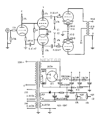 vacuum tube valve circuit   audio circuits    next grvented a p a pp  w tube amplifier circuit diagram
