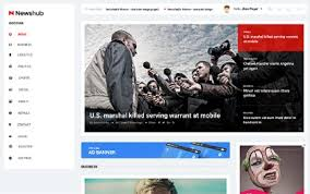 Newspaper Html Template Newspaper Html Site Templates Wrapbootstrap