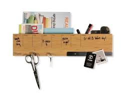 Accessories: Wooden Wall Pencil Containers - Desktop Pen Holder