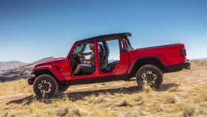 2020 Jeep Gladiator Officially Debuts As The Only Convertible Pickup ...