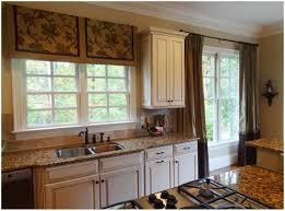 Kitchen Curtains Modern Kitchen Creamy Brown Curtain Full Size Of Kitchensplendid Modern