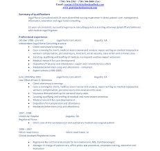 Career Summary Resume | Resume Template