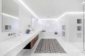 modern white bathroom. Artistic Bathroom Decor: Alluring Contemporary White Christopher Grubb HGTV Of Modern From I