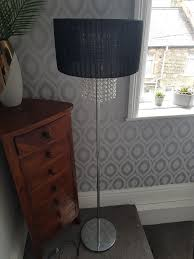tall free standing chandelier lamp
