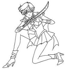 Small Picture Sailor Pluto Beautiful Sailor Moon Coloring Pages Pinterest