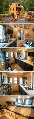 The Atticus tiny house at the Mt. Hood Village Resort