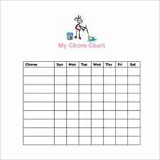 Imom Chore Chart 22 Chore Chart Template Free Pdf Excel Word Formats