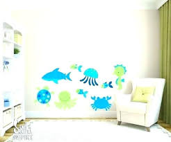 ocean wall decals for nursery ocean decals ocean decals sea life wall decor fabric wall decals ocean wall decals for nursery