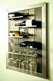 wine glass rack shelf wall mount wine glass holders wine racks wall mounted wine rack shelf