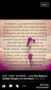 Beautiful Love Quotes In Spanish Best of Te Amo Frases Pinterest True Words And Poem
