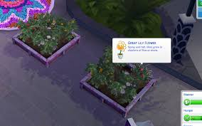 Lily Flower and Snapdragon Flower... — The Sims Forums
