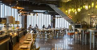 Cafeteria Lighting Design Acoulite Creates A Vintage Lighting For New Dubai Restaurant