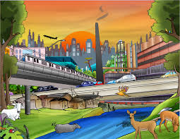 urbanization cartoon images urbanization from developing
