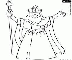 Kleurplaat De Machtige Keizer Karel De Grote Kleurplaten