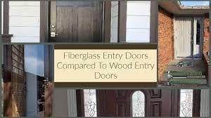 why fiberglass doors are superior to