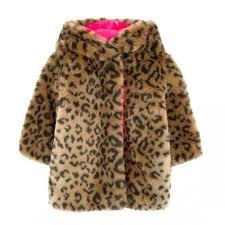 baby leopard furry coat