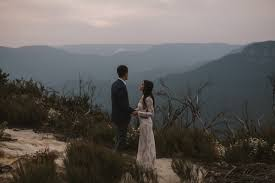 243499 Ashley & Kyle's Romantic Blue Mountains Elopement Photographed by  Damien Milan Photography - Image Polka Dot Bride