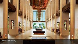 The interior of Nobu at the Atlantis Hotel, Dubai.