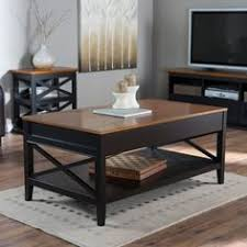 Belham Living Hampton Storage And Lift Top Coffee Table