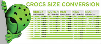 55 Comprehensive Size Chart For Crocs