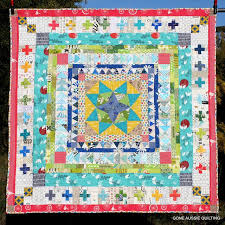 160 best Borders for patchwork quilts images on Pinterest ... & Gone Aussie Quilting: Marcelle Medallion Finish Adamdwight.com
