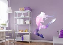 gymnastics silhouette life size removable wall decal