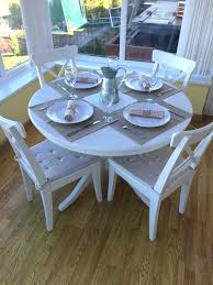 ikea round dining table extendable dining table and chairs best of extendable white round dining room