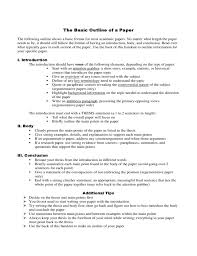 example essay papers okl mindsprout co example essay papers basic outline of a paper