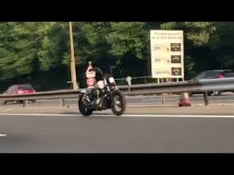 ghost motorcycle driving without rider