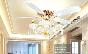 fan with crystal light popular crystal chandelier fan light kits
