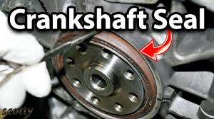 how to replace crankshaft seal on your car how