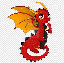 Trung Quốc rồng Chibi Anime, rồng Trung Quốc, hình động vật, phim hoạt hình  png