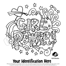 Small Picture Girl Scout Coloring Sheets Girlscout Coloring Page