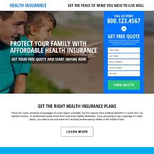 free health insurance quotes gorgeous health insurance landing page design templates for converting