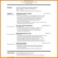 Modern Resume Format 100 cv format in word doc prome so banko 89