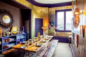 Parisian Apartment Home Decor Eclectic Style Interior Design Dining Room  Reclaimed Wood