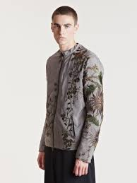 By Walid Designer By Walid Mens Flora Fabric Jacket By Walid In 2019