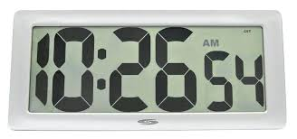 large atomic digital wall clock wall clocks digital wall clocks large atomic digital wall clock with