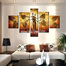 idea oil painting hand painted modern abstract canvas paintings 5 piece wall art house of modern