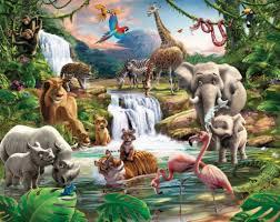 Kinderkamer Behang Safari In 2019 Pictures Of Biblical Paradise