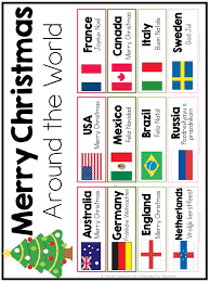 Christmas Around The World Writing Prompts Crafts And Printable Christmas Around The World Crafts For Preschoolers